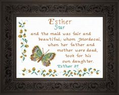 Name Blessings - Esther