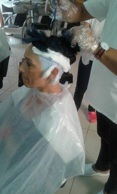 Two Toned Hair, Roller Set, Bleach, Salons, Tulle, Stylists, Perms, People, Coloring