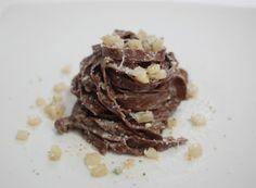 Cucinare che Passione: Tagliatelle al cacao amaro con gorgonzola e pere