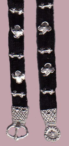 Early 15th century Belt with pewter fittings