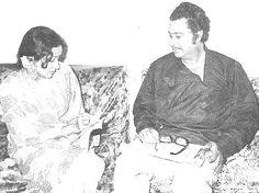 With Hema Malini.