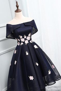 Off Shoulder Homecoming Dresses,Navy Blue Homecoming Dresses, Short Prom Dress, Simple Dresses, Elegant Dresses, Pretty Dresses, Beautiful Dresses, Formal Dresses, Awesome Dresses, Long Dresses, Casual Dresses, Cheap Dresses