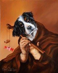 Artist Sylvia Karle Marquet's Animal Society Book Press, Dog Artwork, Animal Society, Tribal Women, Vanitas, French Artists, Pet Portraits, Funny Animals, Pets
