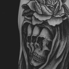 Close up detail of this tattoo. Made in London by Mister Paterson