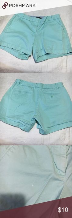 Jcrew chino shorts 8 Jcrew chino shorts 8 small bleach stain see photo J. Crew Shorts