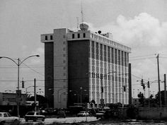 Old Miami Images 1960s | Old National Hurricane Center Building location on US-1 across from the Universityof Miami ...
