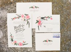 Rifle Paper Co. does it again. Photography by katiestoops.com, Invitations by http://riflepaperco.com/