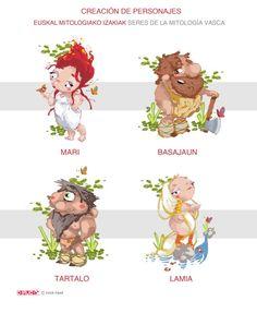 Taller ::Creación de personajes: Seres de la mitología vasca (Melbourne: Clayton South Primary School) ::Instituto Cervantes de Sidney
