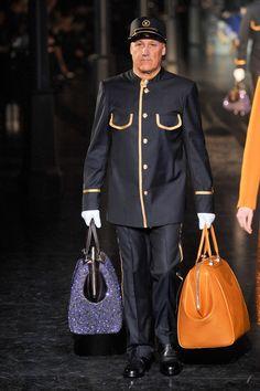 Louis Vuitton at Paris Fashion Week Fall 2012 - StyleBistro