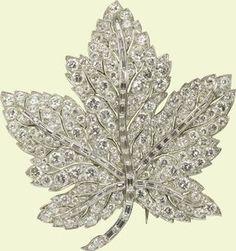 The Royal Order of Sartorial Splendor: Sunday Brooch: The Maple Leaf