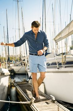 Men's fashion summer. Great style for our ship.