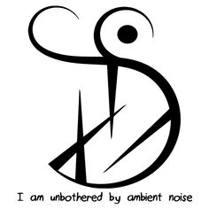 """I am protected from unwanted sexual attention"" sigil ""I am unbothered by ambient noise"" sigil requested by anonymous"