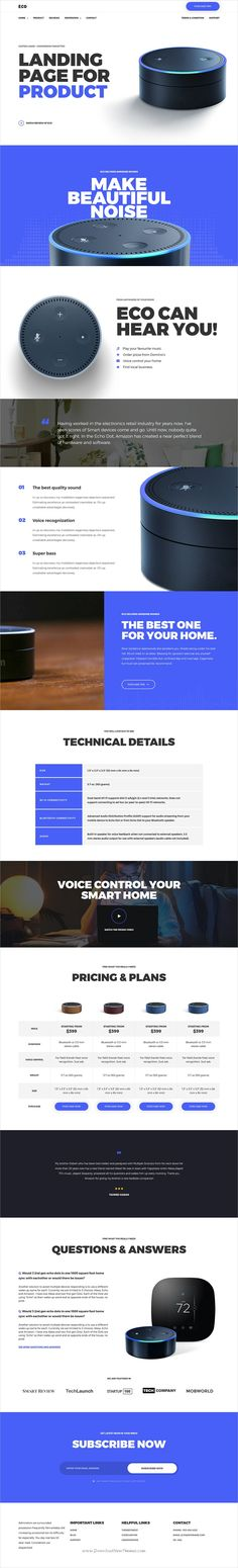 Eco is clean and modern design 6in1 responsive #WordPress theme for #product and services #landingpage website integrated with MailChimp and Contact Form 7 download now..