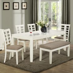 22 Best White Dining Room Table Images