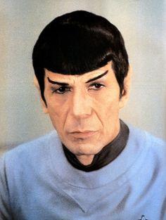 STAR TREK - Leonard Nimoy as Mr. Spock