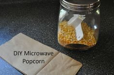 Sit a Spell: DIY Microwave Popcorn