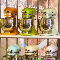 Some of our lovely Kitchen Aid´s  www.royaldesign.com  #kitchenaid #royaldesign #design #kitchen #kök #inspiration #inredning #heminredning #homedecor #homefurnishing #interiordesign #cook #food #mat #matlagning