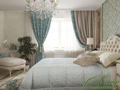 Спальня: воздушная классика. Спальня