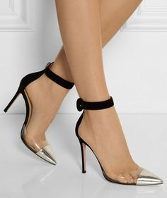 Italian women wear heels for every occasion - even for a trip to the supermarket. Bag yourself some killer Italian leather heels and never take them off. These are from Gianvito Rossi and are totally gorgeous.