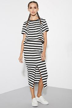 The Fifth Label Above The Clouds Stripe Top
