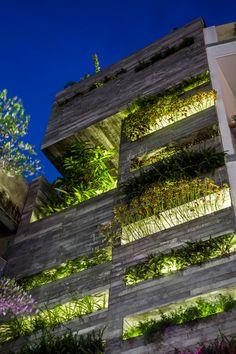 Ho Khue Architects Design a Garden House in Đà Nẵng, Vietnam