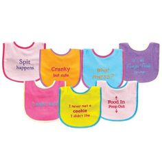 Marima Good Times Personalized Scarf Bib Feeding /& Teething Fancy Baby Bibs and Burp Cloth Polyester Cotton
