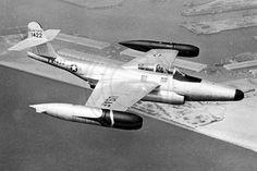 US Air Force Northrop F-89J Scorpion 51-11422 Air to Air
