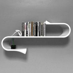 Waveshelf #Awesome, #Design, #Furniture, #Shelf, #Wave