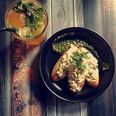 When on a breakfast date mushroom crostini and lemon iced tea is a must have. . . #food #foodie #foodpics #foodgasm #foodporn #foodisfuel #foodies #foodism #foodiegram #foodiechats #foodblog #blog #gastronomia #gastronomy #foodbloggers #gastronomic #foodblogger #indianfoodblogger #sodelicious #sodelish #sodelhi #lbbd #uponmypalate #indianfoodblogger #foodtalkindia #buzzfeedfood #indianfoodbloggers #zomato #zomatoindia