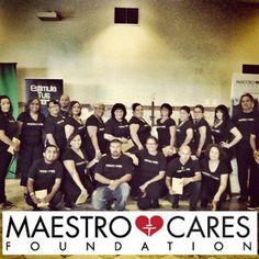 Maestro Care Foundation volunteers.