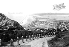 Photo of Portland, Chesil Beach 1918 from Francis Frith Old Pictures, Old Photos, Portland Dorset, Weymouth Dorset, Stone Blocks, Rest Of The World, Bristol, Seaside, Britain