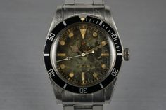 1958 Rolex Submariner 5508 Tropical Dial