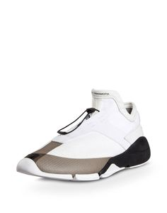 Yohji Yamamoto partnered with adidas to bring you designer sports fashion from the East. Pumas Shoes, Men's Shoes, Shoes Sneakers, Best Sneakers, Sneakers Fashion, Tactical Shoes, Sneakers Sketch, Hype Shoes, Sport Fashion