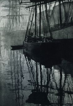 """Spider-webs"", by Alvin Langdon Coburn. Photogravure published in Camera Work, No Langdon Coburn - Wikipedia, the free encyclopedia Old Pictures, Old Photos, Vintage Photos, Beach Photos, Alfred Stieglitz, Tall Ships, Vintage Photography, Focus Photography, Metropolitan Museum"