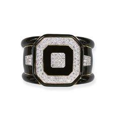 Diamond, Enamel and Gold Bracelet, David Webb