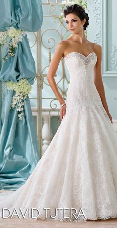 David Tutera For Mon Cheri Spring 2016 Wedding Dressesspring