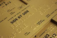A Design Film Festival Singapore 2013 on Behance