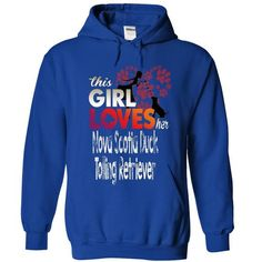 awesome Never Underestimate The Power Of A Woman With A Nova Scotia Duck Tolling Retriever