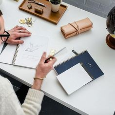 huckberry journal: unclutter your life. Creative Business, Business Tips, Creative Notebooks, Changing Jobs, Paper Clip, Workplace, Craft Supplies, Web Design, Stationery