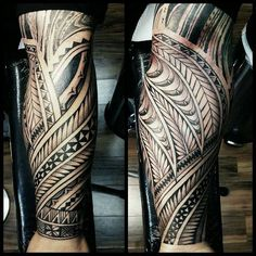 Tongan piece done by Fred Frost #polynesian #tattoo
