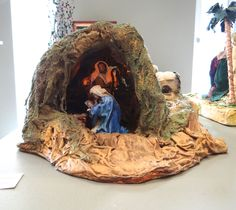 Merry Christmas, Christmas Nativity Scene, Christmas Tree Design, Christmas 2016, Christmas Crafts, Christmas Decorations, Advent, Diy And Crafts, Miniature Houses