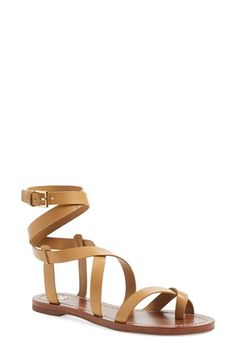 Tory Burch 'Patos' Gladiator Sandal (Women) available at #Nordstrom✿ιиѕριяαтισи@TAmen ✿