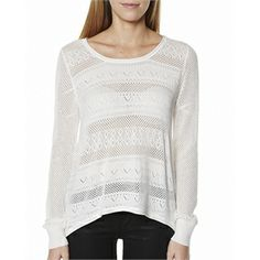 "Picanini have the Billabong Homegrown Girl Knit on sale AU$52.49. from Billabong Womens > Knits + Cardigans > Knit Jumpers in the popular online store SurfStitch (AU). Features : Womens Jumper Colour: Cool Whip Made from: 100% Cotton Scoop neck knit Sheer delicate knit detail throughout Ribbed cuffs Hemline and neckline curls Hemline is shorter at front and longer at back Size & Fit Guide: Womens knit Model's height 173cm (5'8) Model's bust 86cm (32″"") Model's hips are 86cm (33.5″"") Model's…"