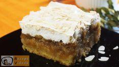 ALMÁS-HABOS KOCKA RECEPT VIDEÓVAL - almás-habos kocka készítése Creme, Cheesecake, Muffin, Pie, Cooking, Ethnic Recipes, Food, Basket, Light Cakes