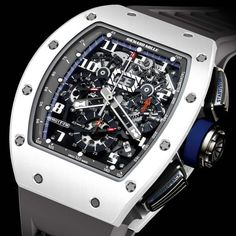 Richard Mille been appointed the Official Timekeeper to the Polo Club Saint-Tropez. To mark the occasion, Richard Mille has created the official watch of the Polo Club St Tropez. Gents Watches, Fine Watches, Rolex Watches, Watches For Men, Unique Watches, Wrist Watches, Richard Mille, Tourbillon Watch, Amazing Watches