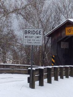 Benetka Rd Covered Bridge Ashtabula OH