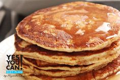 Oatmeal Pancakes - A healthy option for your Yes You Can! Diet Plan breakfast