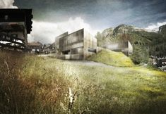 I hope this comes out as nice as these images suggest. Multifunctional Center by ETB Studio