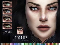 Eyes for the Sims based on my own eyes with reflection of my windows xD Found in TSR Category & 4 Female Costume Makeup& The Sims, Sims Cc, Sims 4 Cc Eyes, Sims 4 Cc Skin, Maxis, Sims 4 Update, Sims 4 Cc Finds, Sims 4 Mods, Sims 4 Custom Content