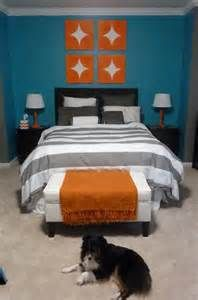 teal and gray bedroom - Bing Images